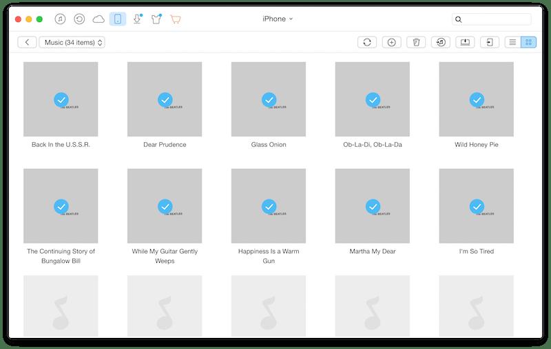 как скинуть фото с mac на iphone