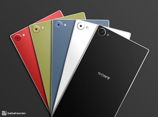 Концепт Sony Xperia Z5 Plus